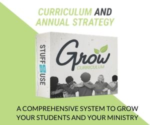 GROW YOUTH MINISTRY CURRICULUM & ANNUAL STRATEGY